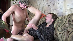 Cyrus and Morris A start off with head and then drill some tight ass deep
